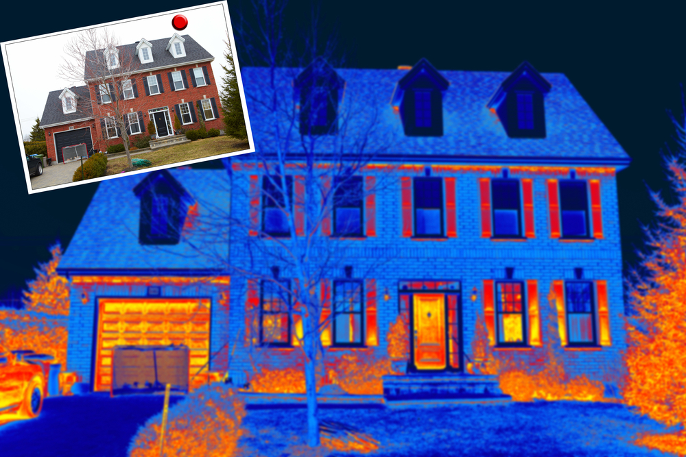 Thermal Imaging On House