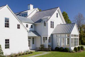 Tin and shingle roof