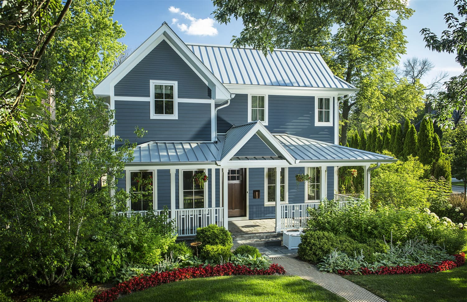 James Hardie Boothbay Blue siding