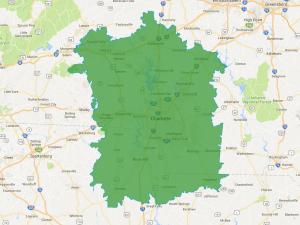 Charlotte, NC Territory Map
