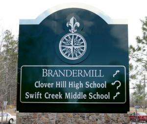 Brandermill, VA Directions Sign