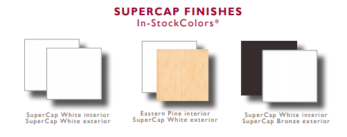 supercap finishes in stock colors