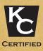 KC certified logo