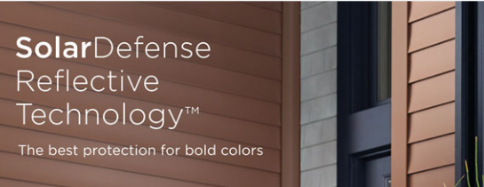 Best protection for bold vinyl siding colors