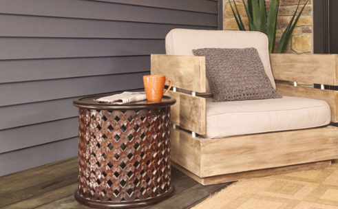DIY pation decor