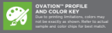 ovation profile color key logo