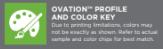 ovation profile color key logo