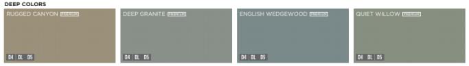 deep color options for Mastic Vinyl