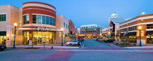 Shopping center in Newport News