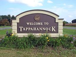 Tappahannock welcome sign