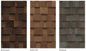 Neutral color options for roofing shingles