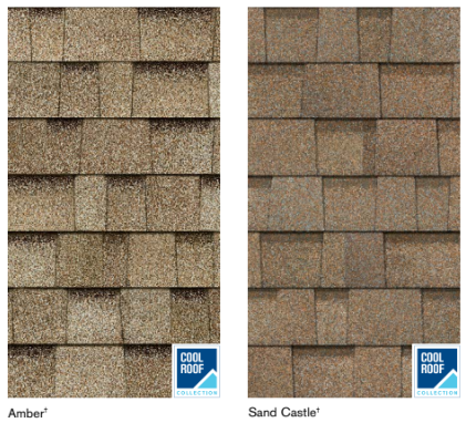 Tan roofing color options