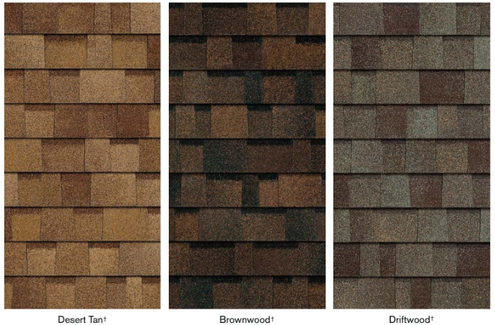 Brown shingle collection by true definition