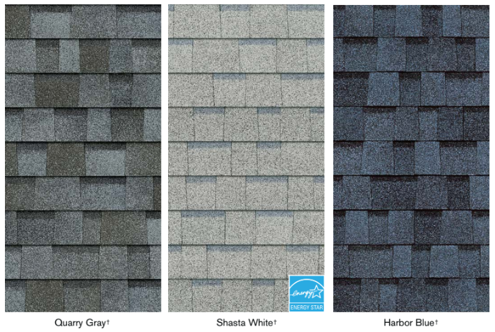 True definition lighter roofing shingles