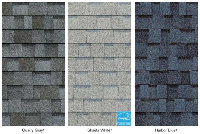 True definition lighter roofing shingles