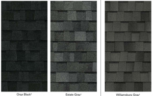 True definition dark shingle options