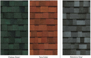 Color options for roofing shingles