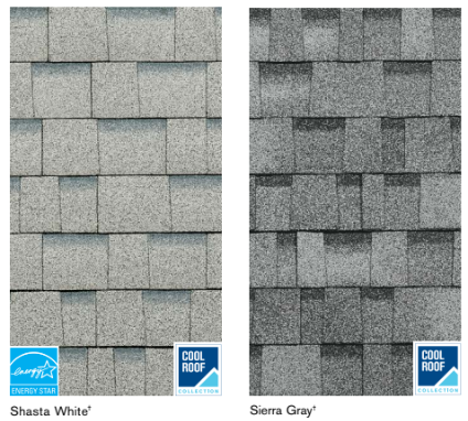 Cool Roof Color Options