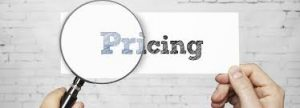 Evaluating pricings