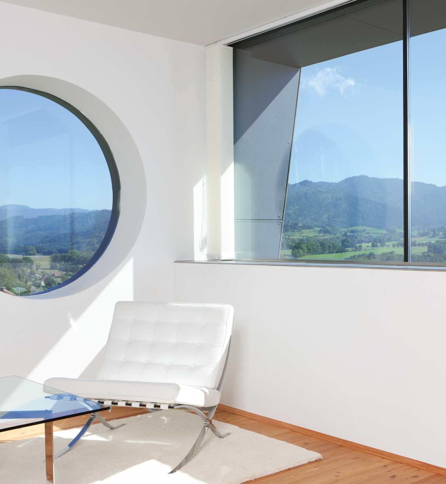 Modern round window