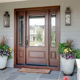 Door with sitelites