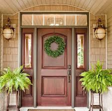 Brand New Wood Front Door