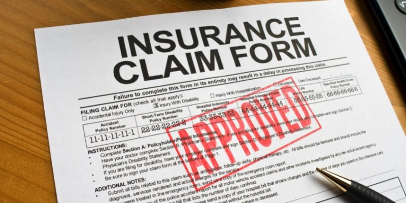 Claim Approved for Roof Insurance