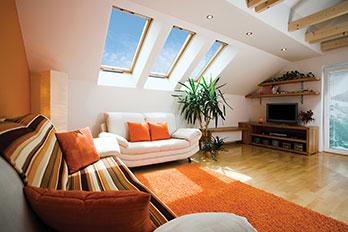 Living Room Skylight Ideas
