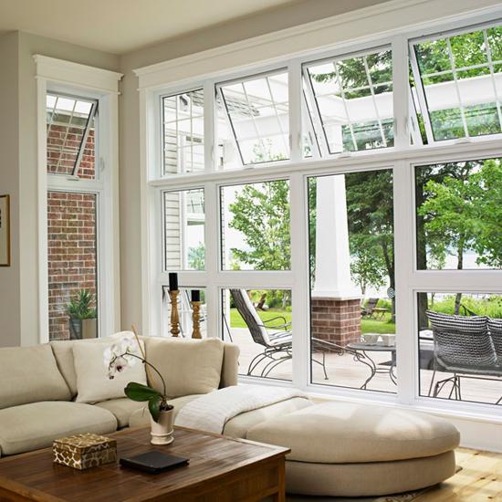 Living Room Awning Windows