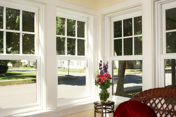 Corner Double Hung Windows