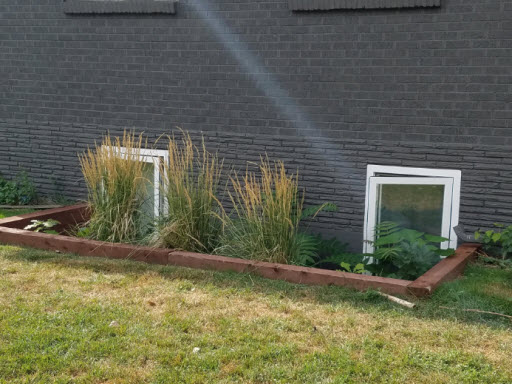 Outside View- Egress Windows