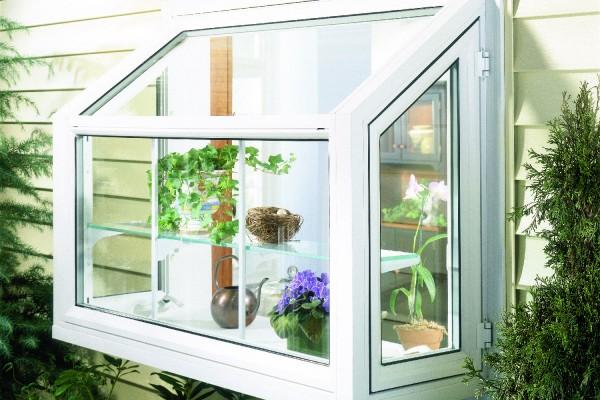 Exterior View Of Garden Window