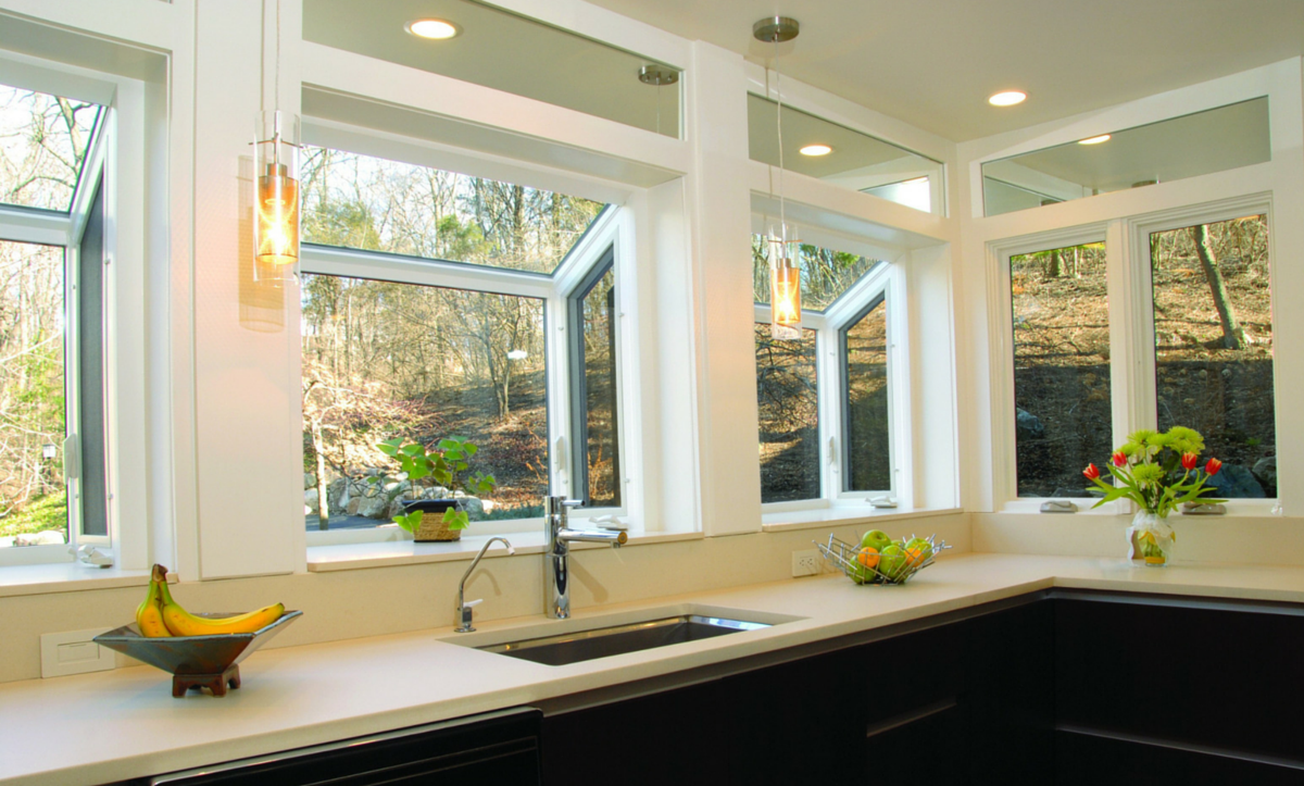Modern Garden Windows