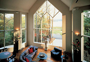 Large Geometrical Picture Window
