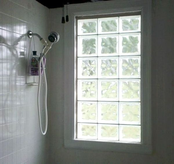 Delicieux Glass Block Windows For Privacy In The Bathroom