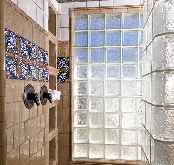 Shower Glass Blocks