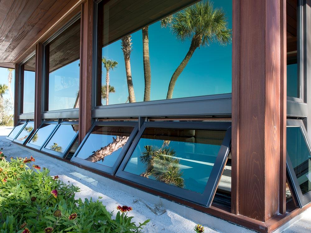 Exterior Hopper Windows 1
