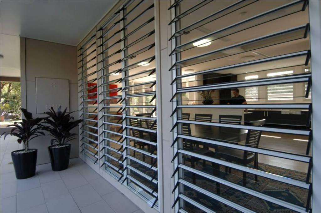 Jalousie Window Design