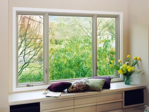 Picture Window With Seating