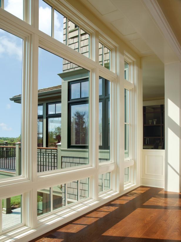 Picture Windows - Backyard