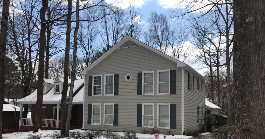 Before Vinyl Siding Was Replaced