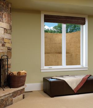 Inside View Of An Egress Window