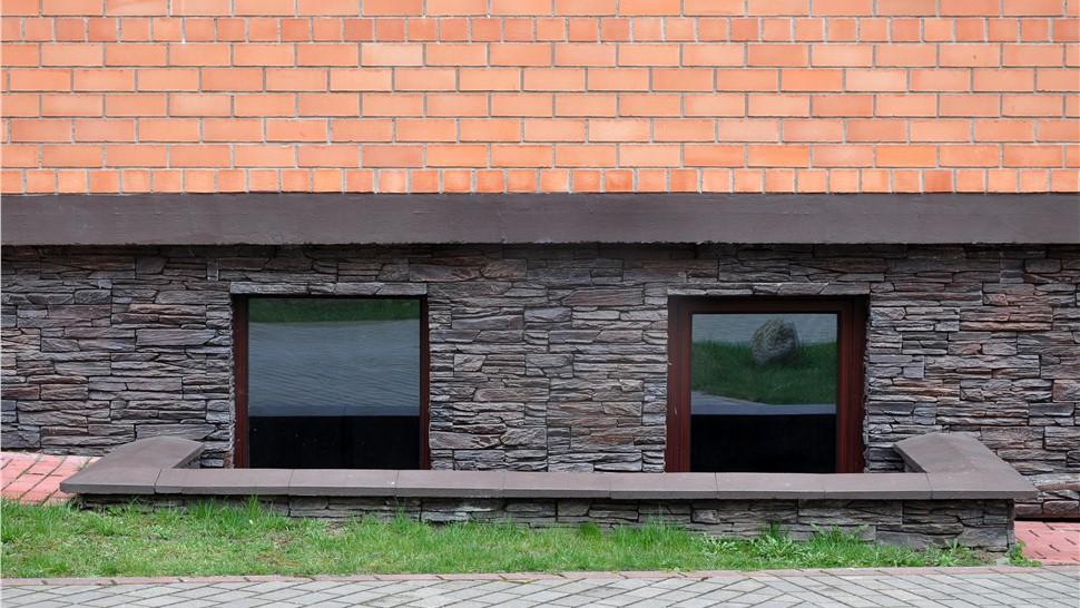 Stone Next To Egress Windows