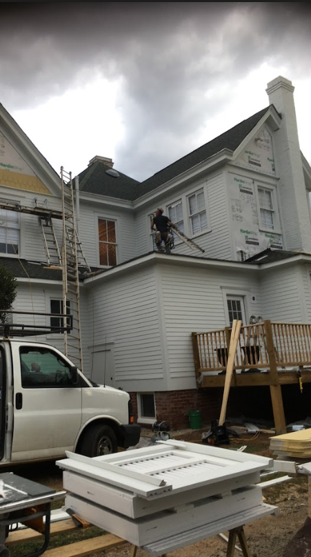 Siding Replacement On Historic Home In Belmont Hatch Homes