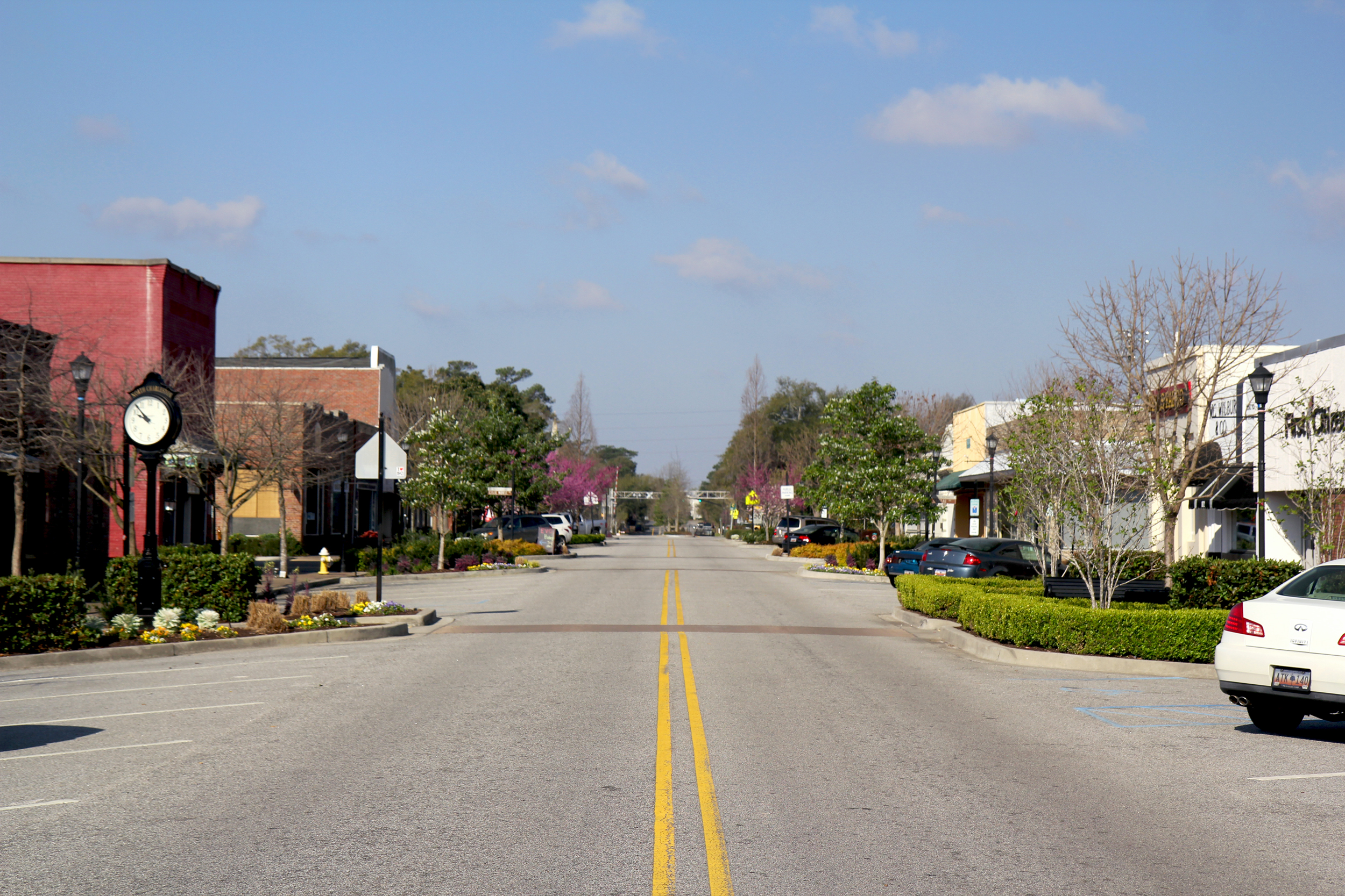 Downtown View Of Hanahan, SC