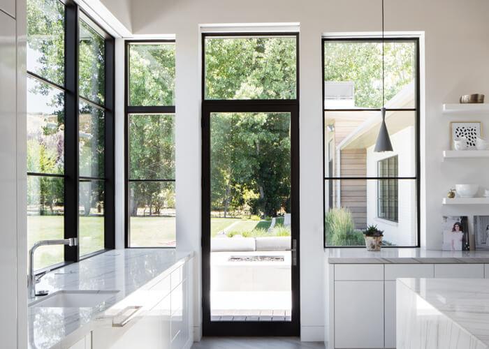 Aluminum windows & doors