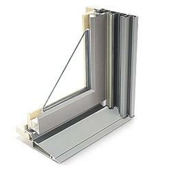Interior of fiberglass window
