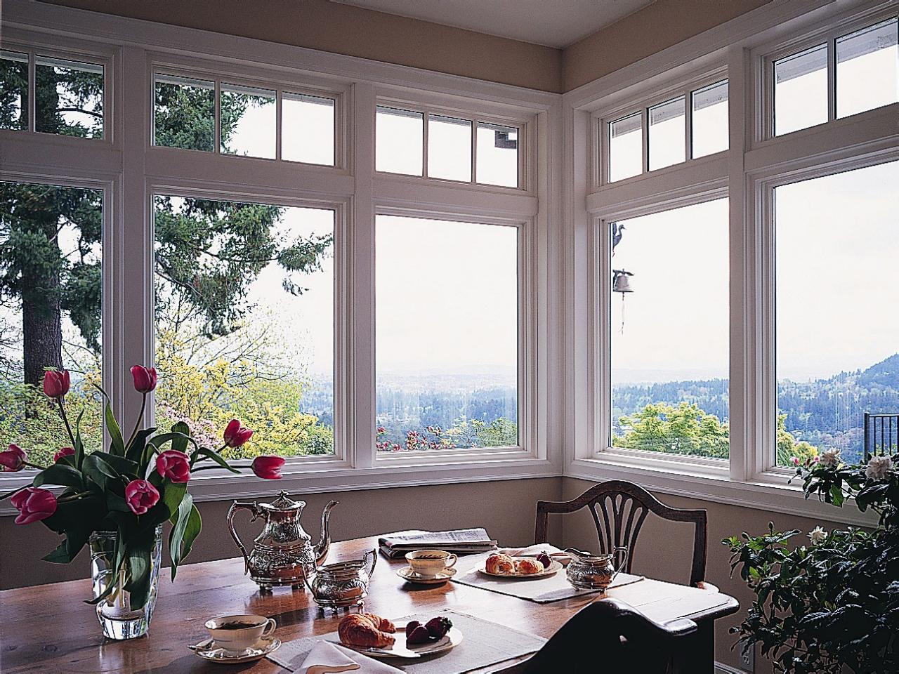 Kitchen Vinyl Windows