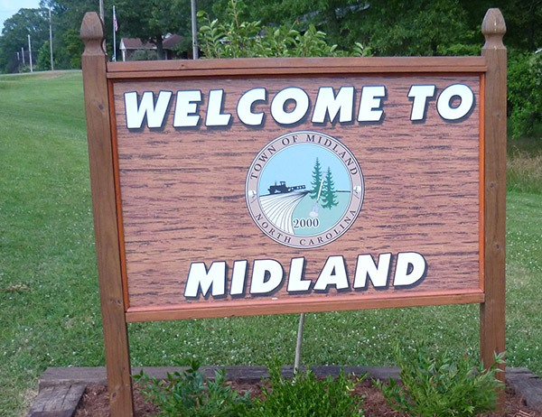 Welcome To Midland Sign
