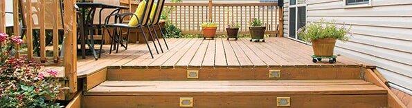 Patio and decks